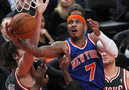 carmelo anthony knicks pictures. born Carmelo Kiyan Anthony